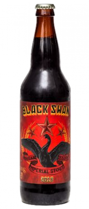 Black Swan Russian Imperial Stout by Swans Hotel & Brewpub in British Columbia, Canada