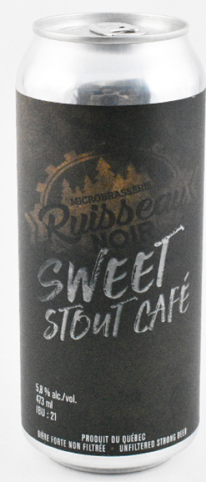 Sweet Stout Café by Microbrasserie Ruisseau Noir in Québec, Canada