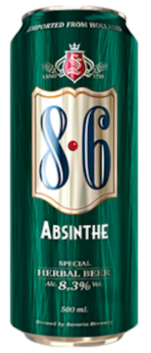 8.6 Absinthe by Swinkels Family Brewers in North Brabant, Netherlands