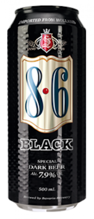 8.6 Black by Swinkels Family Brewers in North Brabant, Netherlands