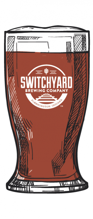 Blackberry Wheat by Switchyard Brewing Company in Indiana, United States