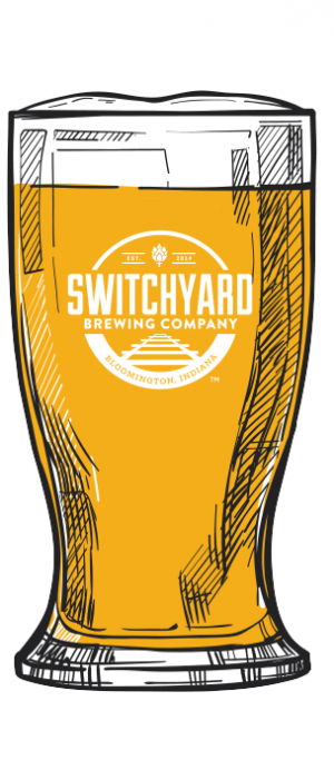 Orange Blossom Blonde by Switchyard Brewing Company in Indiana, United States