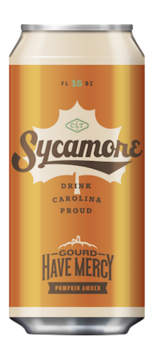 Gourd Have Mercy Pumpkin Amber by Sycamore Brewing in North Carolina, United States