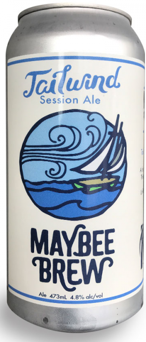 Tailwind Session Ale by Maybee Brew Co. in New Brunswick, Canada