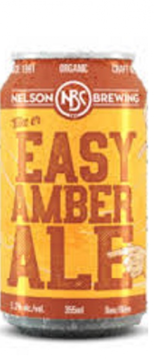 Take Er Easy Amber Ale by Nelson Brewing Company in British Columbia, Canada