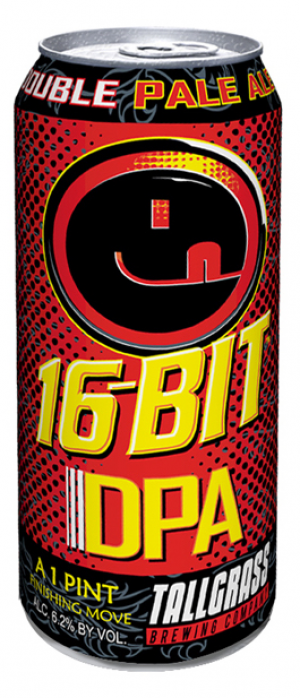 16-Bit Double Pale Ale by Tallgrass Brewing Company in Kansas, United States