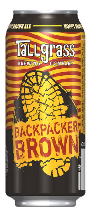 Backpacker Brown by Tallgrass Brewing Company in Kansas, United States