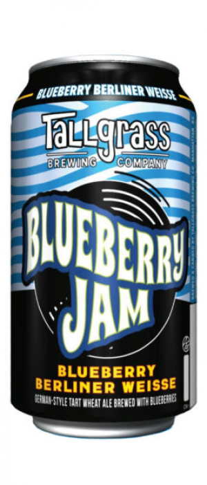 Blueberry Jam by Tallgrass Brewing Company in Kansas, United States