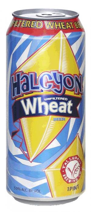 Halcyon Unfiltered Wheat by Tallgrass Brewing Company in Kansas, United States