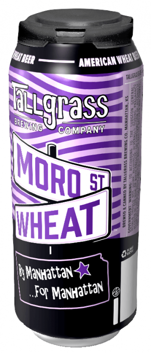 Moro St. Wheat by Tallgrass Brewing Company in Kansas, United States