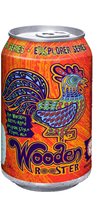 Wooden Rooster by Tallgrass Brewing Company in Kansas, United States