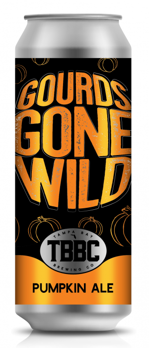 Gourds Gone Wild by Tampa Bay Brewing Company in Florida, United States
