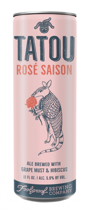 Tatou Rosé by Foolproof Brewing Company in Rhode Island, United States