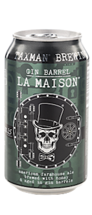 Gin Barrel La Maison by Taxman Brewing Company in Indiana, United States