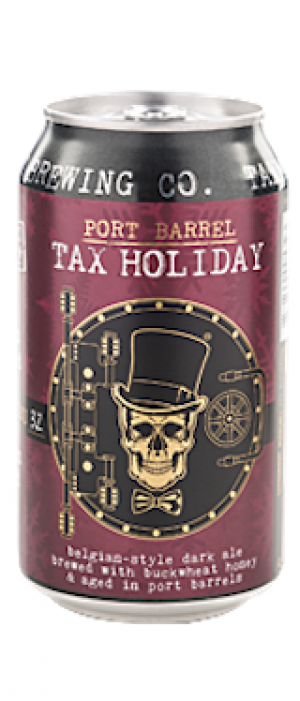 Port Barrel Tax Holiday by Taxman Brewing Company in Indiana, United States