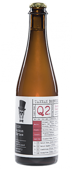 Q2 Saison by Taxman Brewing Company in Indiana, United States