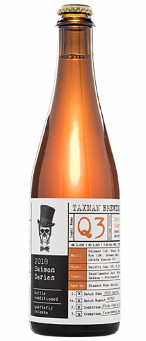 Q3 by Taxman Brewing Company in Indiana, United States