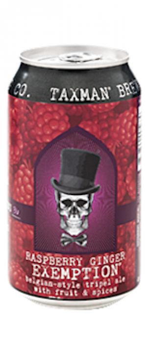 Raspberry Ginger Exemption by Taxman Brewing Company in Indiana, United States