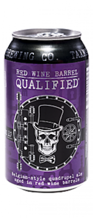 Red Wine Qualified by Taxman Brewing Company in Indiana, United States