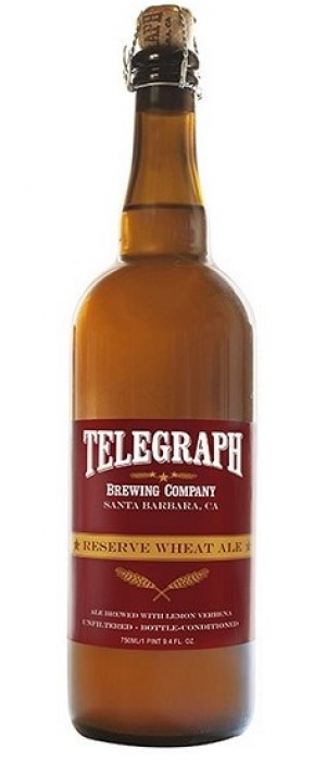 Reserve Wheat Ale by Telegraph Brewing Company in California, United States