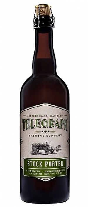 Stock Porter by Telegraph Brewing Company in California, United States