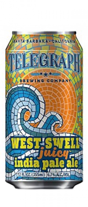 West Swell IPA by Telegraph Brewing Company in California, United States