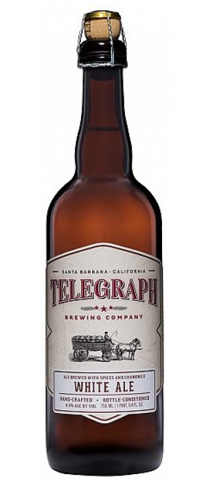 White Ale by Telegraph Brewing Company in California, United States