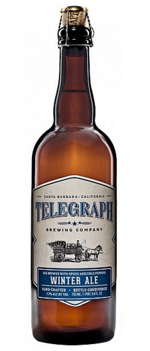 Winter Ale by Telegraph Brewing Company in California, United States