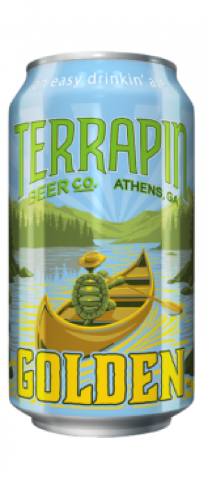 Golden Ale by Terrapin Beer Company in Georgia, United States
