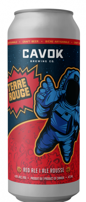 Terre Rouge by Cavok Brewing Co. in New Brunswick, Canada