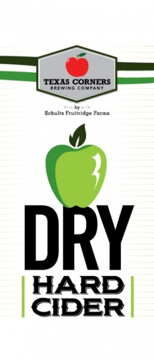 Dry Hard Cider by Texas Corners Brewing Company in Michigan, United States