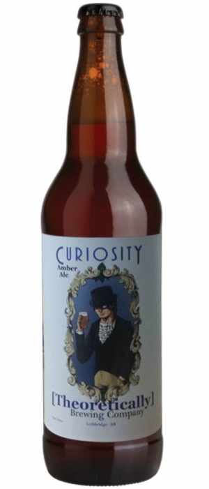 Curiosity Amber Ale by [Theoretically]  Brewing Company Ltd. in Alberta, Canada
