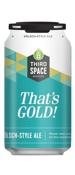 That's Gold by Third Space Brewing in Wisconsin, United States