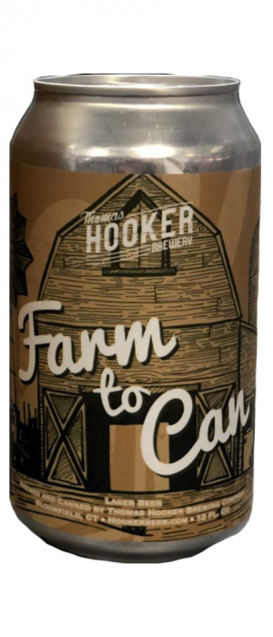 Farm to Can by Thomas Hooker Brewery in Connecticut, United States