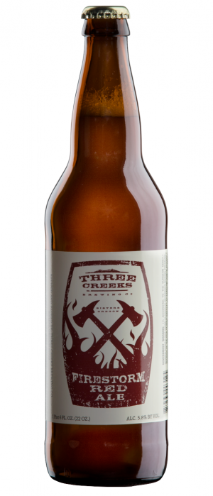 Firestorm Red Ale by Three Creeks Brewing Company in Oregon, United States