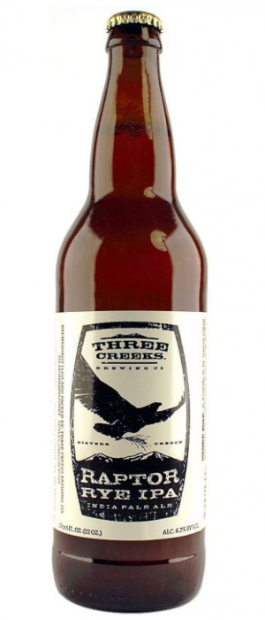 Raptor IPA by Three Creeks Brewing Company in Oregon, United States