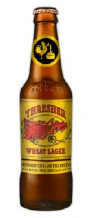 Thresher Wheat Lager by Big Rock Brewery in Alberta, Canada