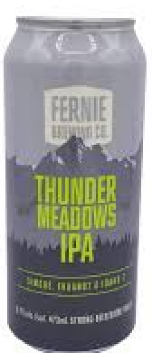 Thunder Meadows IPA by Fernie Brewing Company in British Columbia, Canada