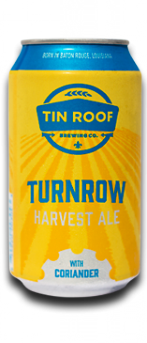 Turnrow Coriander Ale. Tin Roof Brewing Company