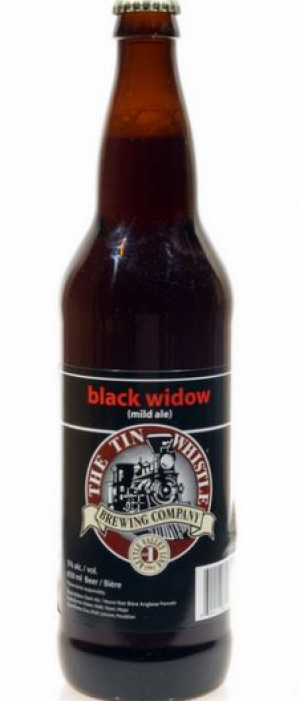 Black Widow by Tin Whistle Brewing Company in British Columbia, Canada