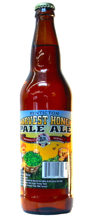 Penticton Harvest Honey Pale Ale by Tin Whistle Brewing Company in British Columbia, Canada