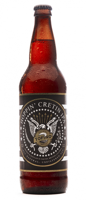 Hoppin' Cretin IPA by Tofino Brewing Company in British Columbia, Canada