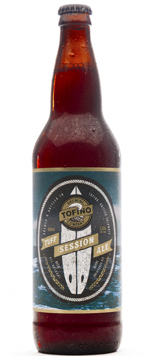 Tuff Session Ale by Tofino Brewing Company in British Columbia, Canada