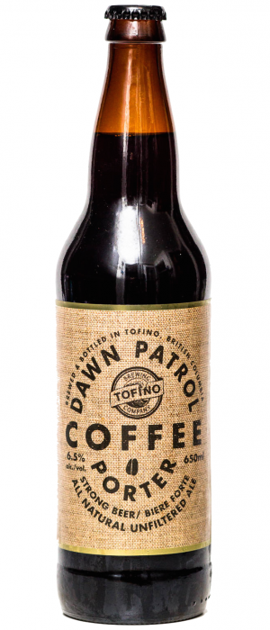 Dawn Patrol Coffee Porter by Tofino Brewing Company in British Columbia, Canada