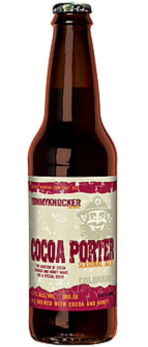 Cocoa Porter Ale by Tommyknocker Brewery in Colorado, United States
