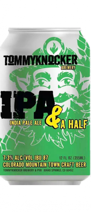 IPA & A HALF by Tommyknocker Brewery in Colorado, United States