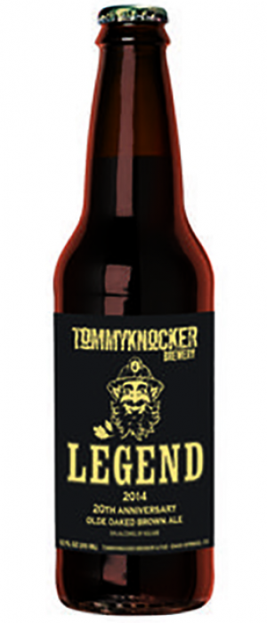 Legend Olde Oaked Brown Ale by Tommyknocker Brewery in Colorado, United States
