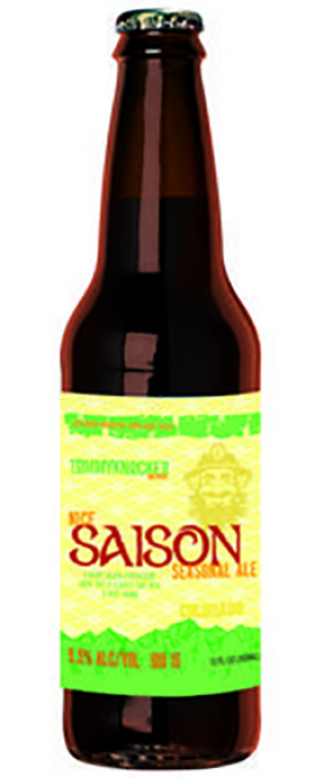 Nice Saison Seasonal Ale by Tommyknocker Brewery in Colorado, United States