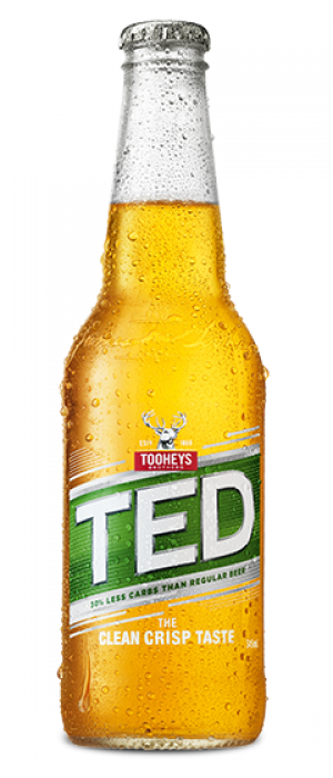 TED - Tooheys Extra Dry by Tooheys Brothers in New South Wales, Australia