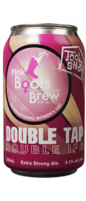 Double Tap by Tool Shed Brewing Company in Alberta, Canada